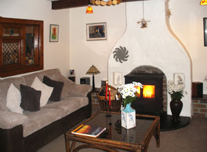 Sittingroom in Doolin Cottage
